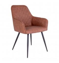 Harbo Spisebordsstol - Brun/Sort