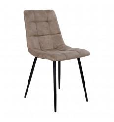 Middelfart Spisebordsstol - Lys brun/sort