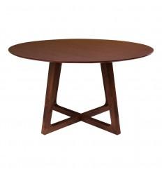 Hellerup Spisebord - Ø:137 cm - Valnød