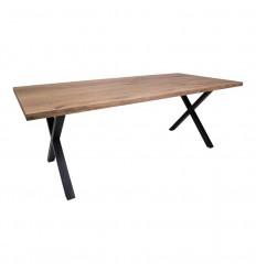 Montpellier Spisebord -95x200 cm - Smoked Olieret Eg