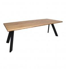 Sanremo Spisebord - 100x220 cm - Olieret eg