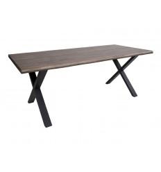 Toulon Spisebord - 95x200 cm - Smoked Olieret Eg