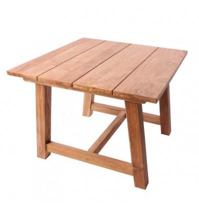 Hector Teak bord - 4 planker (100x100)
