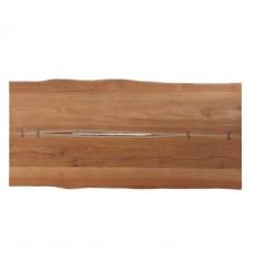Meta Planke-bordplade - 100x240 cm