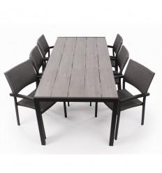 Daniel Maria Havemøbelsæt - 92x205 cm
