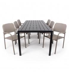 Chico Anita Havemøbelsæt - 90x205 cm