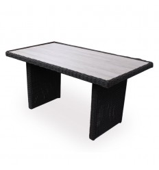 Vista Sofabord - 74x140 cm - Sort