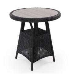 Vista Cafébord - 74x140 cm - Sort