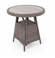 Vista Cafébord - Ø70 cm - Grå