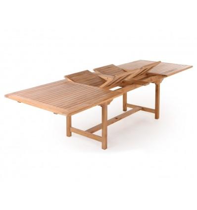 Anina Teak udtræksbord - 100x200/250/300 cm