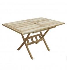 Berlin Teak Cafébord - 85x135 cm