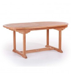 Marbella Teak udtræksbord - 100x180/240 cm