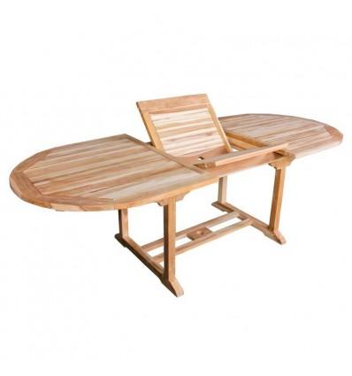 Malmø Teak Udtræksbord - 100x180/240 cm