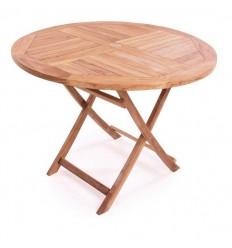 Palma Teak Havebord - Ø120 cm