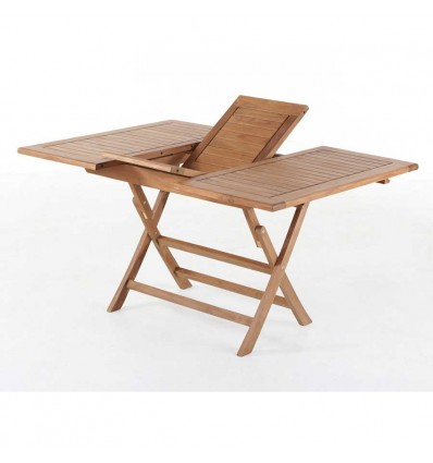 Sara Teak Udtræksbord - 70x120/170 cm