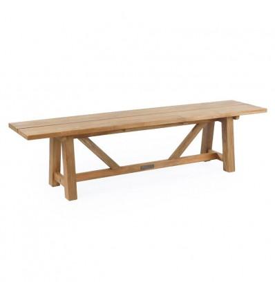 Hector Teak Plankebænk - 240 cm