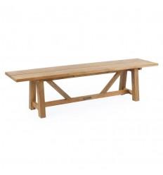 Hector Teak Plankebænk - 180 cm