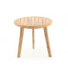 Teak Sidebord - Ø50 cm
