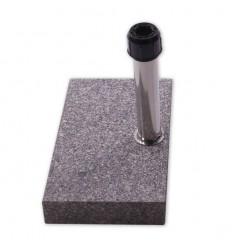 Parasolfod til altan - 25 kg - Grå Granit