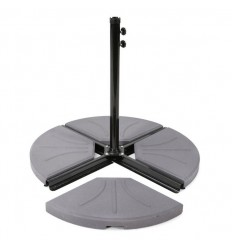 Parasolfod/del til hængeparasol - 20 kg - Beton