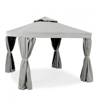 Luxus Pavillon - 3x3 meter - Lys Grå