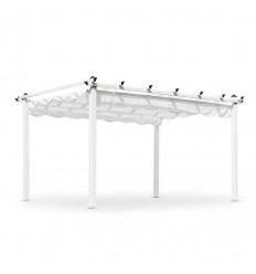 Pergola Pavillon - 3x4 meter - Hvid