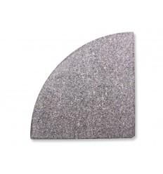 Parasolfod/del til hængeparasol - 20 kg - Granit