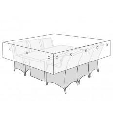 Overtræk til havemøbelsæt - 230x215 cm
