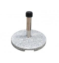 Parasolfod - 15 kg - Grå granit