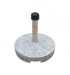 Parasolfod - 35 kg - Grå