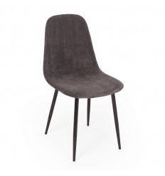Bodo Spisebordsstol - Grå Fløjl
