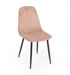 Bodo Spisebordsstol - Beige Fløjl