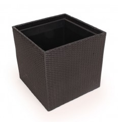 Plantekurv - 50x50 cm - Sort