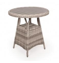 Vista Cafébord - Ø70 cm - Lys Grå